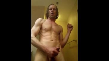 Naked Sweaty Shower