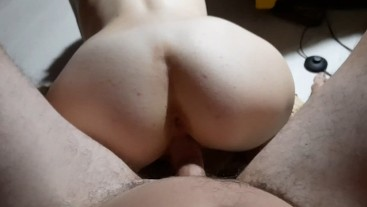 Slut wife wanted a creampie and got it