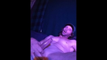 Squrting Cum Out On My Thigh (2021)